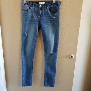 Levi's Girls 710 Super Skinny Distressed Jeans
